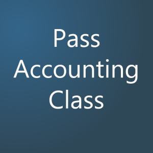Pass Accounting Class .com